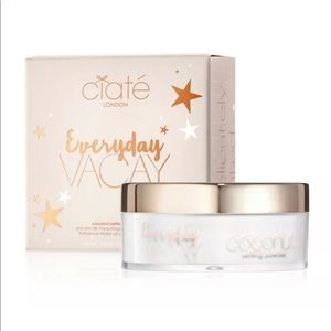 Ciate coconut setting powder!